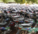 Kaolack : Des centaines de motos
