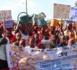TENDOUCK : Marche des populations pour dénoncer la fermeture des robinets dans 3 villages