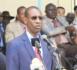 Abdoulaye Daouda Diallo sur le pont de Farafégny :