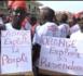 Mbour : Marche des revendeurs et grossistes de carte de crédit orange....