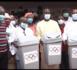 Commune de Saint-Louis : le président du Cnoss, Diagna Ndiaye, offre 1000 poubelles à la municipalité