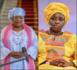 Aminata Touré chez Aminata Mbengue Ndiaye pour presenter ses condoléances : Retrouvailles emouvantes de deux amies unies par le même sort.