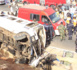 Croisement Cambérène : Un violent accident a fait des blessés graves.