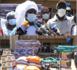 Appui destiné aux sinistrés des inondations par la Fondation Servir le Sénégal de Marième Faye Sall : Mariama Sarr et le Conseil municipal de Kaolack procèdent à la réception du don.