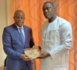 Audience : Mohamed Ndao Tyson reçu par le ministre des sports, Matar Ba.