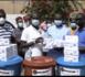 Lutte contre la Covid-19 à Kaolack : La plateforme Xippil Xoll Lifi Macky Def offre des kits d'hygiène aux écoles, postes de santé, Daaras...