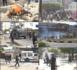 Avenue Cheikh Anta Diop : Etudiants et forces de l'ordre se disputent le contrôle du rond-point.