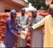 Distribution de kits alimentaires à Latmingué : Le Dr Macoumba Diouf en soutien aux populations et aux «Daara»