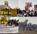 Accueil du PR à Podor : La rude bataille de pancartes entre partisans.