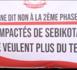 SEBIKOTANE : Les impactés du TER disent « NON » à la 2ème phase des travaux et réclament justice.