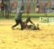 Lutte / Victoire éclatante de Thiate Boy Bambara sur Modou Dia.