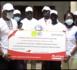 Gabb (Keur Moussa) / «Les Racines de l'espoir» : Auchan remet un chèque de 10 495 000 FCFA à la maison de l'espoir.