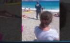 Burkini : Une femme voilée se fait sortir de l'eau par la police à Nice (Vidéo)
