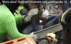 Italie : L'incroyable sauvetage d'une fillette après 17 heures sous les décombres