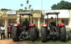 Deux tracteurs pour travaux agricoles à la commune de Djinaky