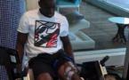 Demba Bâ en pleine réeducation (vidéo)