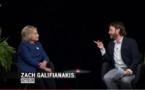 Que se passera-t-il si vous tombez enceinte? : l'interview absurde d'Hillary Clinton par Zach Galifianakis