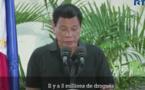 Le président philippin veut tuer 3 millions de personnes (vidéo)