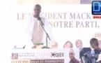 """Saliou Samb, président du Conseil départemental de Mbour  : """"Monsieur le président ce que vous avez fait pour Mbour, aucun président ne l'a jamais fait. Mbour vous est redevable"""""""