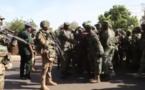 VIDÉO : Moments de communion entre les forces de la CEDEAO et l'armée Gambienne