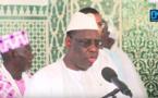 Prière à la Grande mosquée de Dakar : Le chef de l'État lance un appel à tous les citoyens.