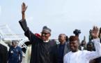 NIGERIA : le président Buhari de retour après plus de trois mois d'absence