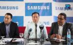 """Déjeuner-Presse Samsung / Lancement de la stratégie Samsung 2018 : """"Nous sommes numéro 1 mondial dans le domaine des Smartphones et des TV"""" (Sung Yoon PDG Samsung-Africa) (Photos)"""