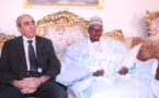 L'Ambassadeur de l'Algérie porteur d'une lettre personnelle de Boutéflika adressée au Khalife Général des Mourides reçu par Cheikh Bass Abdou Khadre