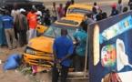 Un accident sur la route de Yoff fait plusieurs blessés