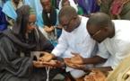 DAROU- MOUKHTY -  Ibrahima Sall prêche pour Macky chez les chefs religieux et commerçants du Ndiambour