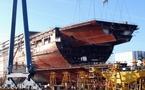 Saint-Nazaire poursuit la construction du paquebot de Kadhafi