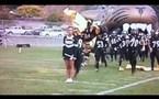 Une pom-pom girl écrasée par une équipe de foot américain (vidéo)