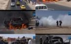 Un véhicule prend feu sur la Vdn, le propriétaire sauvé par un gendarme.