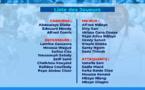 La liste des 25 de Aliou Cissé pour la CAN, sans Kara Mbodj, avec Saivet et Sidy Sarr