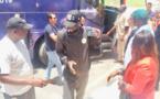 Les Images de l'arrivée des Lions au Caire, ce mardi matin