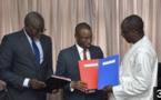 Convention tripartite pour le développement d'infrastructures médicales, entre le MSAS, le Ministère de l'économie et le Fonsis.