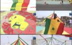 Finale CAN 2019 : Ambiance exceptionnelle à Dakar, les rues «Habillées» aux couleurs nationales