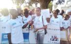 Commémoration des 30 ans de la CDE à Kolda : Marche de sensibilisation des enfants pour le respect de leurs droits.