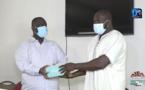 Lutte contre la Covid-19 : Aziz Ndiaye offre 10 000 masques à la ville de Guédiawaye.