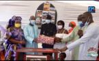 Thiès : Un pot d'au revoir offert au commissaire Oumar Ndiaye du poste de police de Médina Fall.