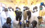 (VIDÉO) TOUBA - Le Khalife visite la mosquée construite par la famille de Serigne Aliou Diouf Lambaye.