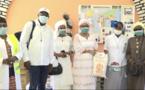 Don à la Pouponnière de la Médina : Soham Wardini promet un appui annuel de la ville de Dakar à la structure.