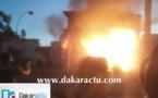 Kaolack : Deux camions citernes prennent feu à Kahone.