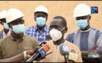 """Tournée économique à Kaolack : Serigne Mboup visite l'industrie textile """"Domitexka"""" et la """"Copéol""""."""