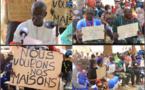 TER / Tracé Diamniadio-AIBD : Les habitants des sept villages de Sébikotane barrent la route à l'APIX.