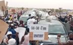 Tournée économique dans le Nord: Le Président Macky Sall accueillit en grande pompe de Podor à Casse-Casse ( IMAGES )