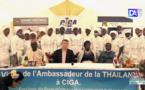 Malika / CIGA : L'ambassade du Royaume Thaïlandais forme une trentaine d'étudiants en gastronomie Thaïlandaise.