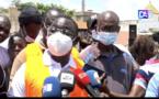 Kaolack : Serigne Mboup et son mouvement ADK déploient des camions de sable et de gravier et plus de 200 plants...