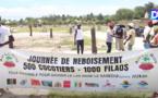 """Environnement/World Cleaning Day :  """"ARR Lac Rose"""" plante des centaines d'arbres autour du lac pour le protéger de l'urbanisme anarchique."""