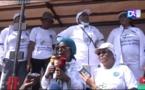 Marche du caucus des femmes leaders : 103 candidates investies et un appel à la paix et à la cohésion lors des élections locales